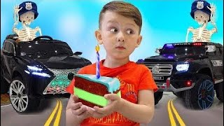 POLICE BABY Senya Pretend Play with Police Car Unboxing and Playing with Police TOYS for kids 2019