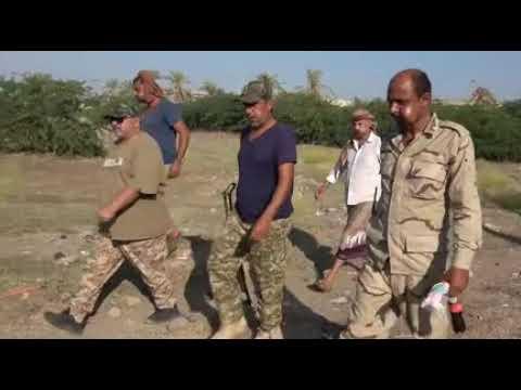 لعميد حسين عزيز في زيارة ميدانية يشيد ببسالة حراس الجمهورية والقوات المشتركة