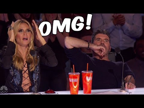 🔴¡Las 5 Mejores Audiciones De America's Got Talent!!🔥Quedarás Impactado!!!😱💥