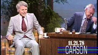Steve Martin Has To Leave Johnny Carson, Funniest Moments