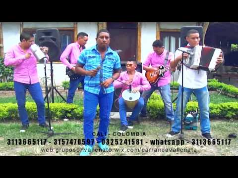 parrandon vallenato cali - como te olvido - grupo