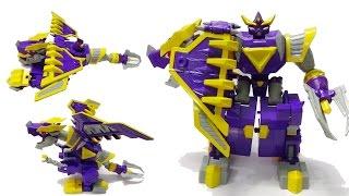 Robot siêu nhân biến hình Rồng Mưu Mẹo - Robot Bất Bại - Tên Lửa Rồng Đen