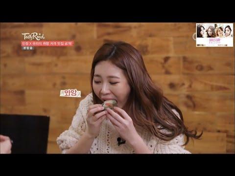 테이스티로드 유라 먹방 하이라이트 모음 (1화~4화) Tasty Road Girl's Day Yura Cuts