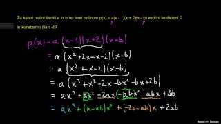 Polinomi – naloga 3