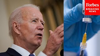 Biden Is In Favor Of Waiving Vaccine Patents, But Process Involving WTO Could Take Months