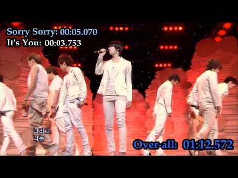 Super Junior's Heechul's singing parts [UPDATED]