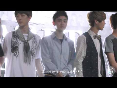 120810 EXO at S.M.ART EXHIBITION (D.O Focus)