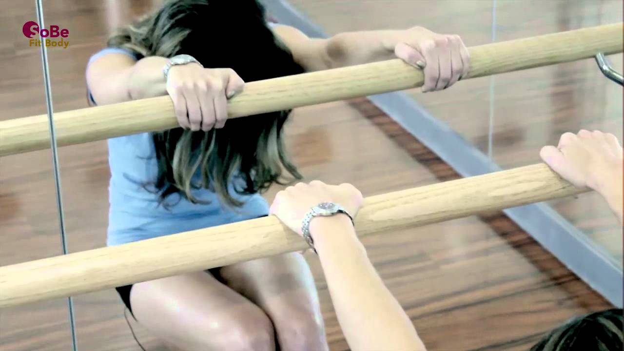 """10 Minute """"Absolut Barre"""" Workout - Yoga, Barre, Pilates ..."""