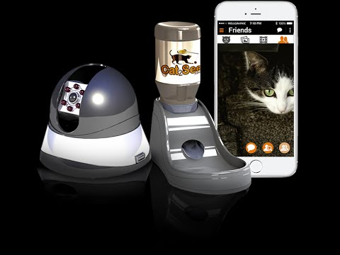 Cat2See - Play, Feed & Watch your cat - Anytime, Anywhere