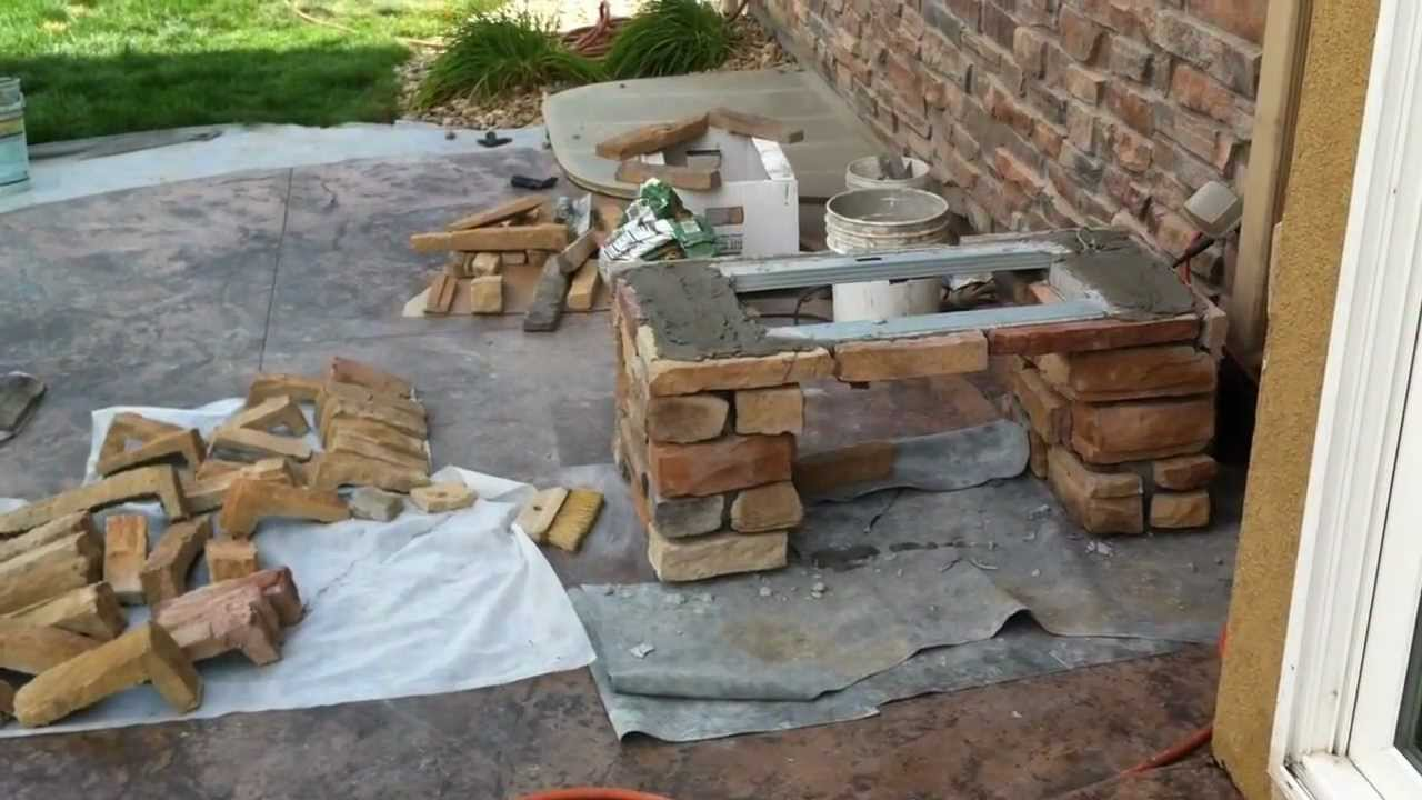 Building Stone Benches Broomfield Landscape Contractor