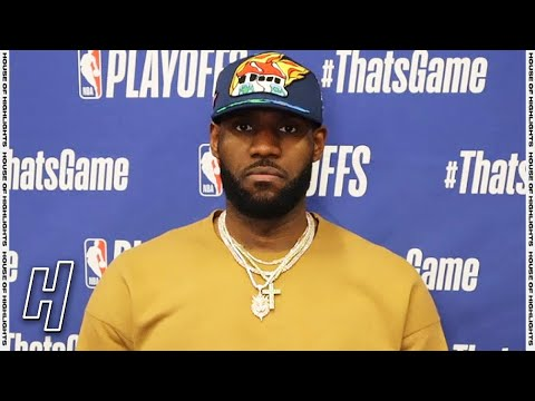 LeBron James Postgame Interview - Game 3 - Suns vs Lakers | 2021 NBA Playoffs