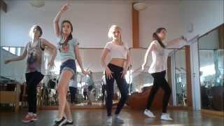 Gyptian - Wine Slow  Lola Angry Chicks Crew Choreography