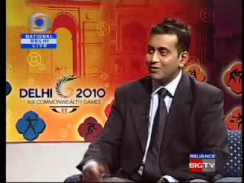 Dilli Hamari Hai !!! (commonwealth games 2010) on Doordarshan (An Interview part 4)