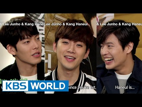 Kim Woobin, Lee Junho, Kang Haneul at a girls' campus (Entertainment Weekly / 2015.03.27)