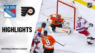 09/21/19 Condensed Game: Rangers @ Flyers