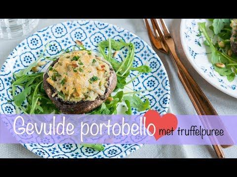 Gevulde portobello met truffelpuree - KEUKEN❤️LIEFDE