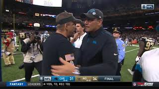 Wil Lutz Game-Winning Field Goal   Panthers vs. Saints   NFL