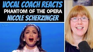 Vocal Coach Reacts to Nicole Scherzinger - Phantom Of The Opera