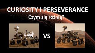 Łaziki Curiosity i Perseverance - czym się różnią?
