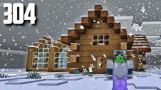 Let's Play Minecraft - Ep.304 : Log Cabin/Nomadic Lifestyle