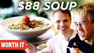 $13 Korean Soup Vs. $88 Korean Soup