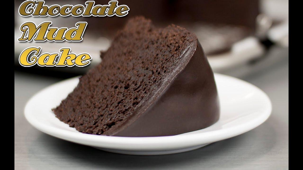 Easy Chocolate Fudge Cake Recipe: Easy Chocolate Mud Cake Recipe !