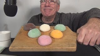 ASMR Eating Mochi Ice Cream for the first time