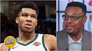 Pierce's message to Giannis: Take the supermax money! | The Jump