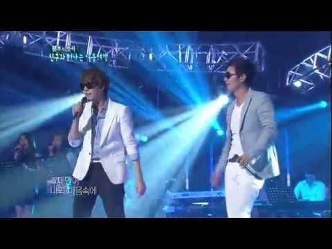 [HIT]불후의명곡2(Immortal Songs 2)-규현&김민종(Super Juinor&KimMinJong)  그대와 함께20110820 KBS