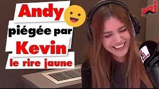 Kevin (Le rire Jaune) piège Andy en direct - Guillaume Radio sur NRJ