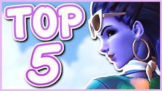 Overwatch - TOP 5 BEST WIDOWMAKER SKINS