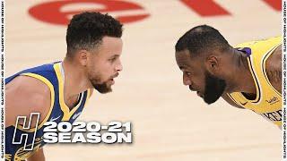 Golden State Warriors vs Los Angeles Lakers - Full Game Highlights   January 18, 2021   NBA Season