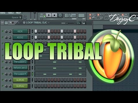 Loops Tribal Fl studio 2015 Tutorial