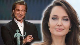 Brad Pitt Receives Backlash Over Angelina Jolie Diss At SAG Awards