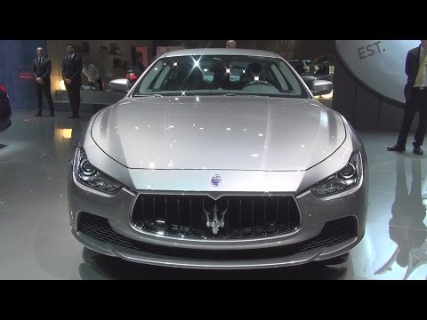 Maserati Ghibli SQ4 (2017) Exterior and Interior in 3D