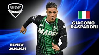 Here Is Why Everyone Want To Sign Giacomo Raspadori 2021 | Crazy Goals & Skills (HD)