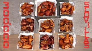 "The Ultimate BWW ""Blazing"" Wings Challenge"
