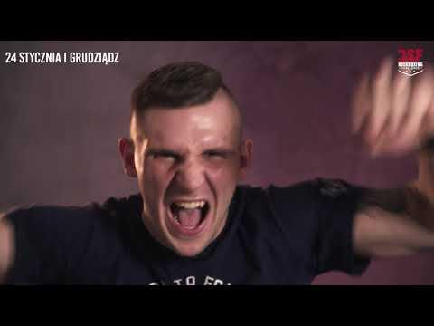 Maksymilian Bratkowicz vs Jirka Jaros w obronie pasa na DSF Challenge 19