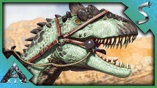 ALLOSAURUS TAMING IN THE DESERT! - Ark: Extinction [DLC Gameplay E25]
