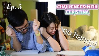 Tied Up Challenge WITH GIRLFRIEND! | Challenges w/ Christina (Ep. 5)