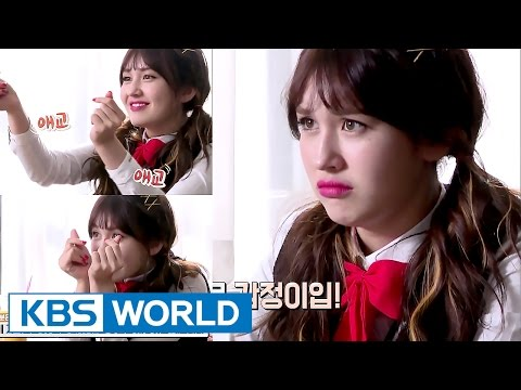 Somi's cuteness she never shows explodes in the MV [Sister's SlamDunk 2 / 2017.05.19]