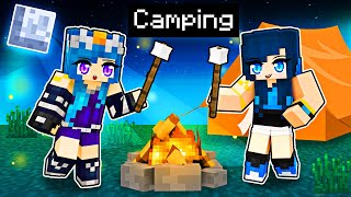Our FAMILY Camping Trip in Minecraft!