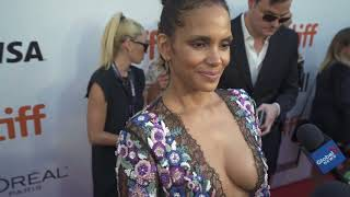 "Halle Berry at the TIFF Red Carpet Premiere of ""Kings"""