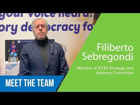 Filiberto Sebregondi - Membre du Comité Stratégique et Consultatif