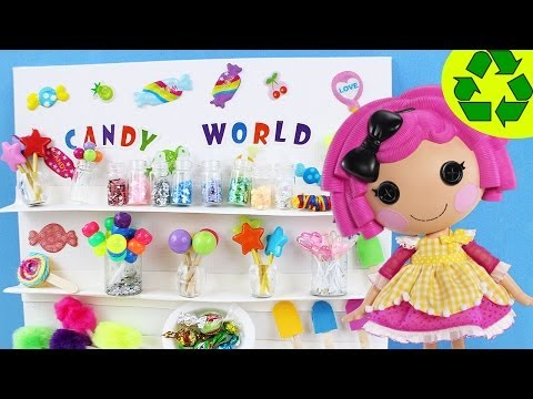 How to Make Doll Candy - Recycling - Realistic Look