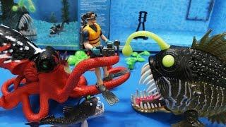 Đồ chơi sinh vật biển sâu - Quái vật biển săn mồi