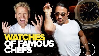 Watches of Famous Chefs (Gordon Ramsay, Alton Brown, Anthony Bourdain & More)