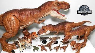 My T-Rex Toys Collection - Jurassic World Fallen Kingdom Dinosaur Toys & Action Figures