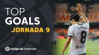 Todos los goles de la Jornada 09 de LaLiga Santander 2020/2021