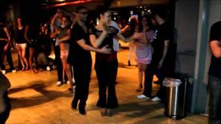 Christel & Silvio at LVG Salsa Social: Social Dancing on the New York Salsa Scene (Sun - 7/22/12)